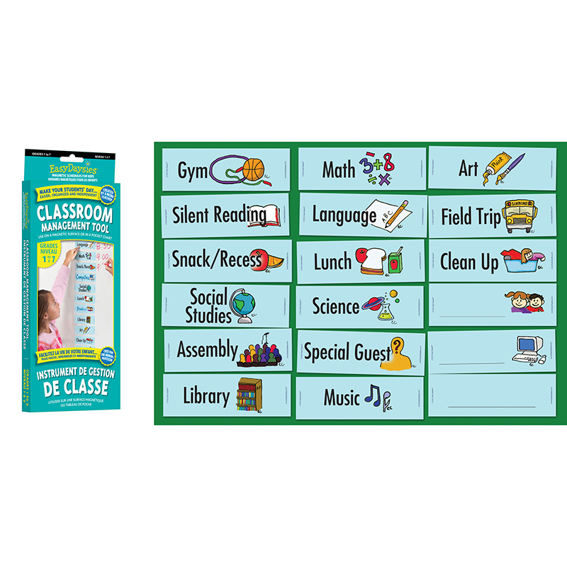 GR 1-7 DAILY CLASSROOM SCHEDULE VISUAL