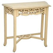 Side Table in Antique Cream Finish