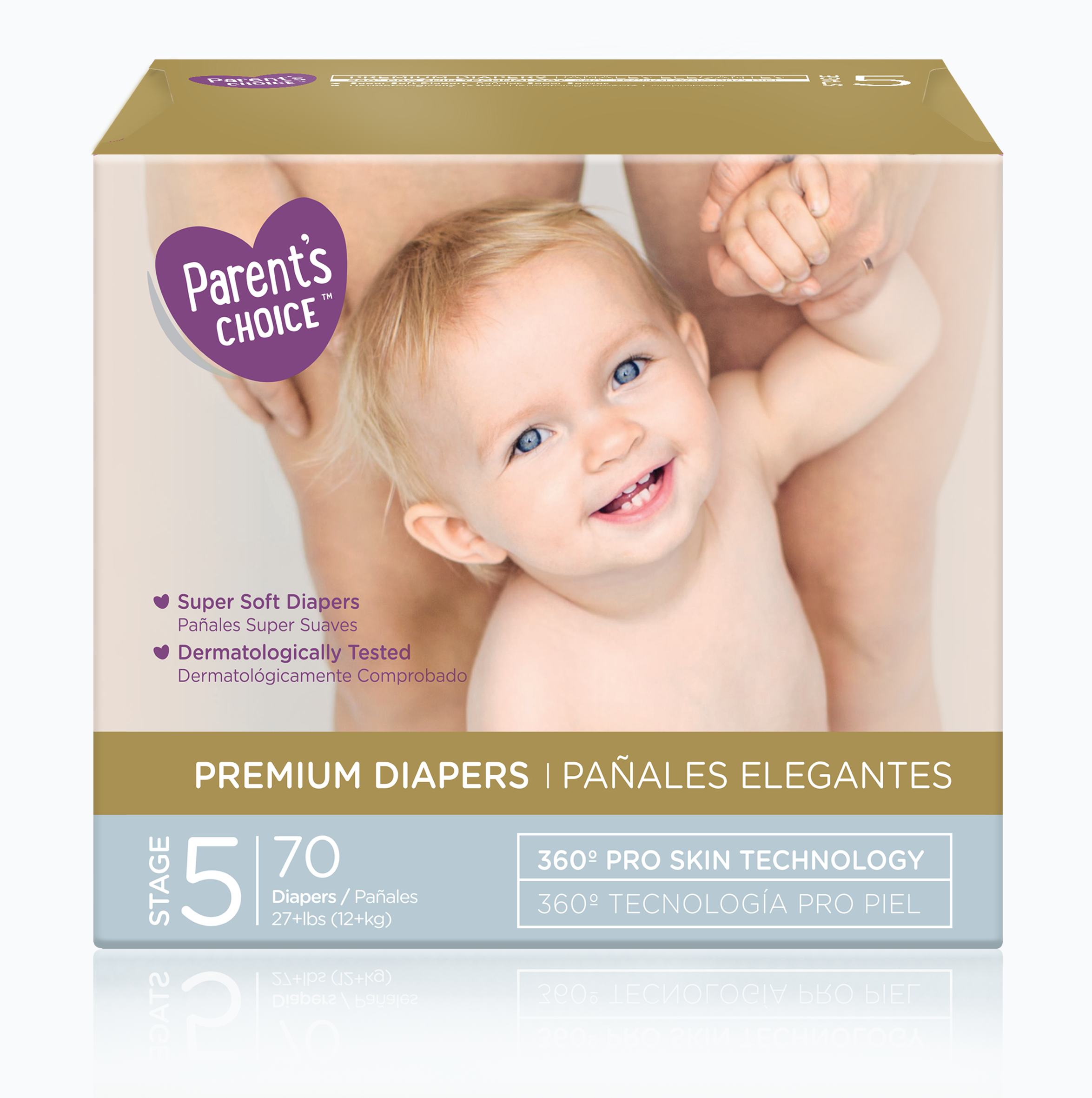 Parent's Choice Premium Diapers, Size 5, 70 Diapers