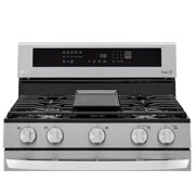 5.8 Cu. Ft. Smart Gas Range With Instaview, Air Fry And Wi-Fi In Stainless Steel