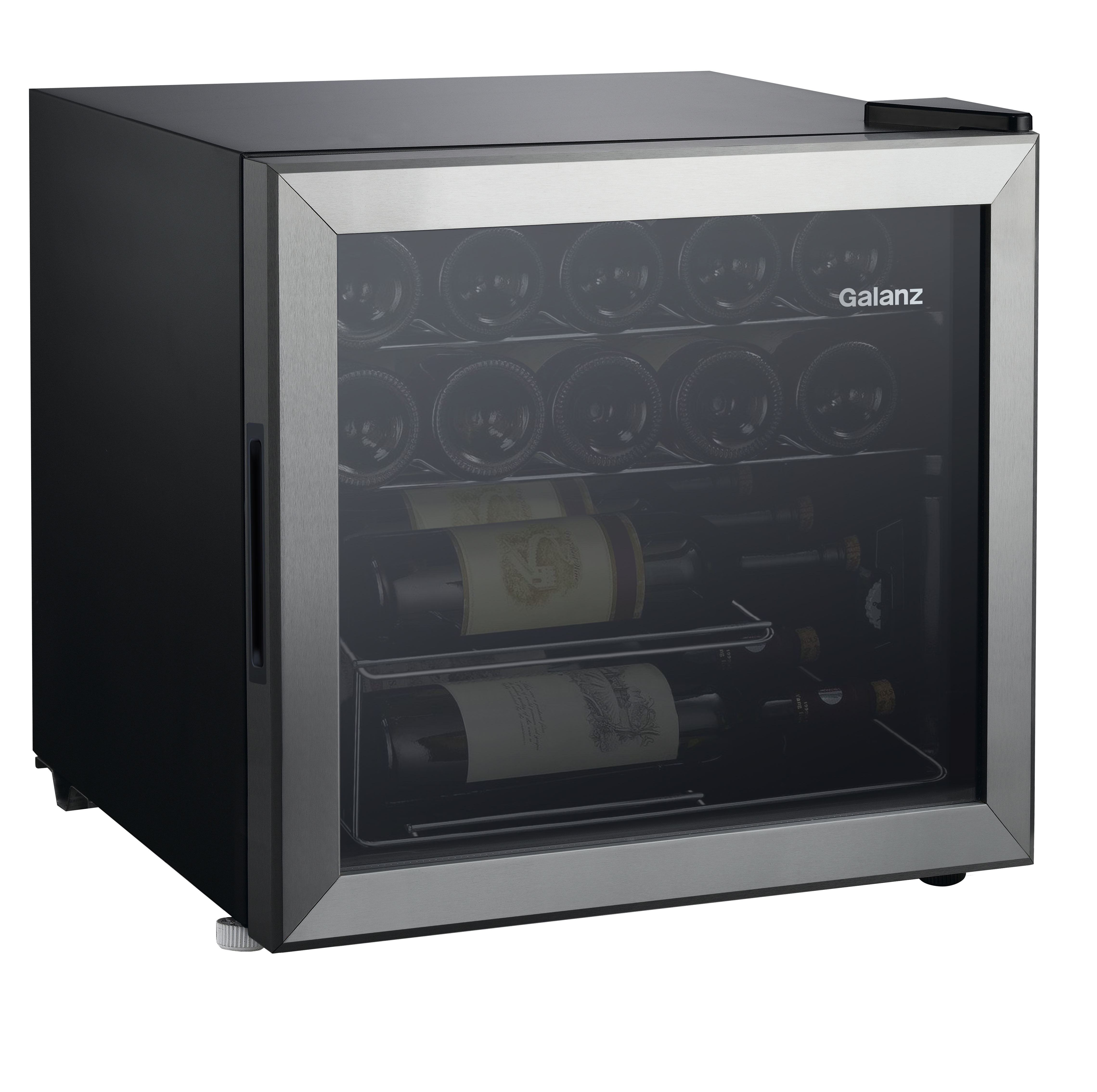 Galanz 16-Bottle Wine Cooler GLW18S, Stainless Steel Steel Door