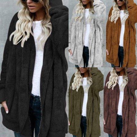 efcef4fe5d Urkutoba - Womens Ladies Baggy Cardigan Coat Tops Chunky Knitted Oversized  Sweater Jumper - Walmart.com