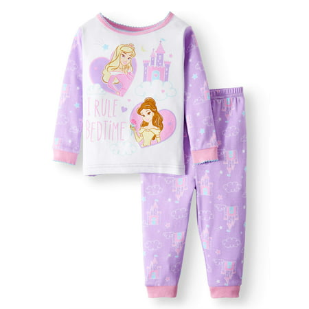 Disney Princess Cotton Tight Fit Pajamas, 2-piece Set (Baby Girls)](Princess Jasmine Pajamas)