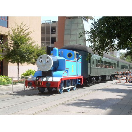 LAMINATED POSTER Innotech shared the Convention Center with a bazillion preschoolers who wanted to ride Thomas the Ta Poster Print 24 x 36
