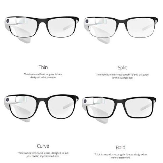 Google Glass Explorer Edition XE-C 2 0 with Frames RX Rocker