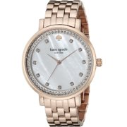 Women's 1YRU0822 'Monterey' Crystal Rose-Tone Stainless Steel Watch