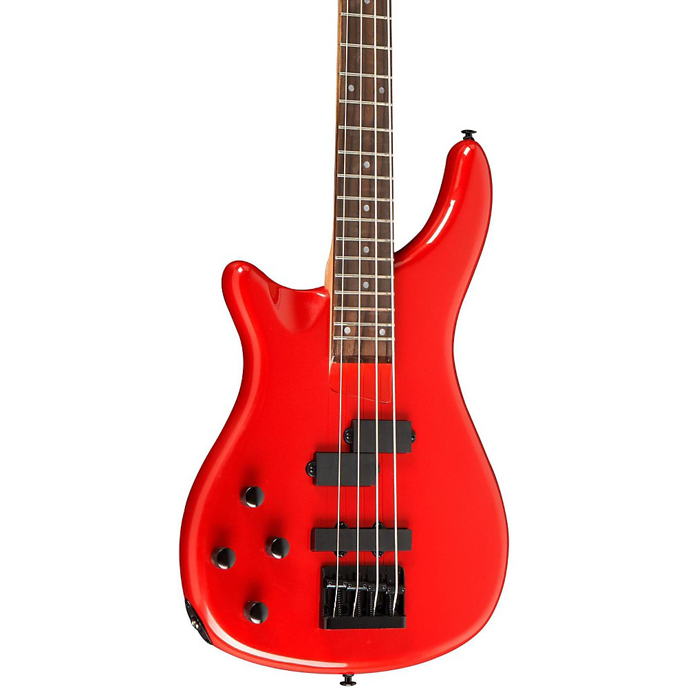 Rogue LX200BL Left-Handed Series III Electric Bass Guitar Candy Apple Red by Rogue