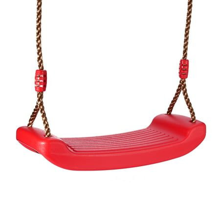 Child Swing - 330.7lb Rope Swing seat Anti-slip with Adjustable Hemp Rope for Adults and Kids Outdoor and Indoor Use ()