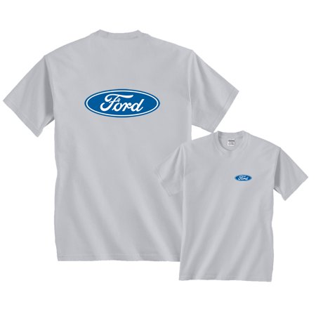 - Ford Motor Company Classic Blue Oval Logo T-Shirt