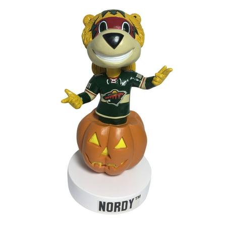 Nordy Minnesota Wild Holiday - Halloween Bobblehead NHL](Halloween Nhl)