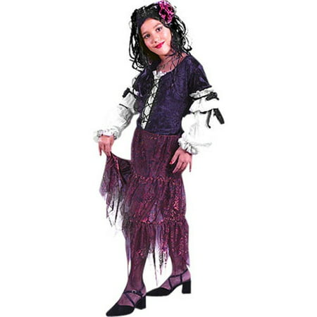 Kids Gypsy Costumes (Child's Gypsy Rose Costume~Small 4-6 /)