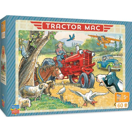 Tractor Jigsaw (Tractor Mac Right Fit - Out for a Ride 60 Piece Jigsaw Puzzle )