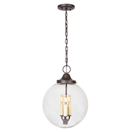 Jvi Designs Boston 3 Light Globe Pendant