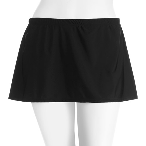 Suddenly Slim by Catalina Women's Plus-Size Slimming High-Waisted Skirted Swimsuit Bottom