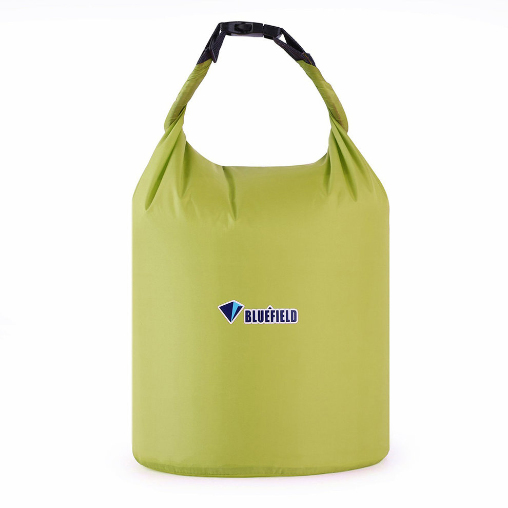 Outdoor Waterproof Camping Rafting Storage Dry Bag with Ajustable Strap Hook Green 20L Green 20L by