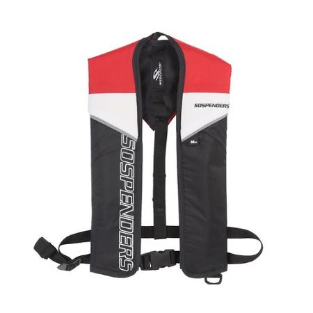 Stearns Sospenders Manual Inflatable Life Vest, Blue