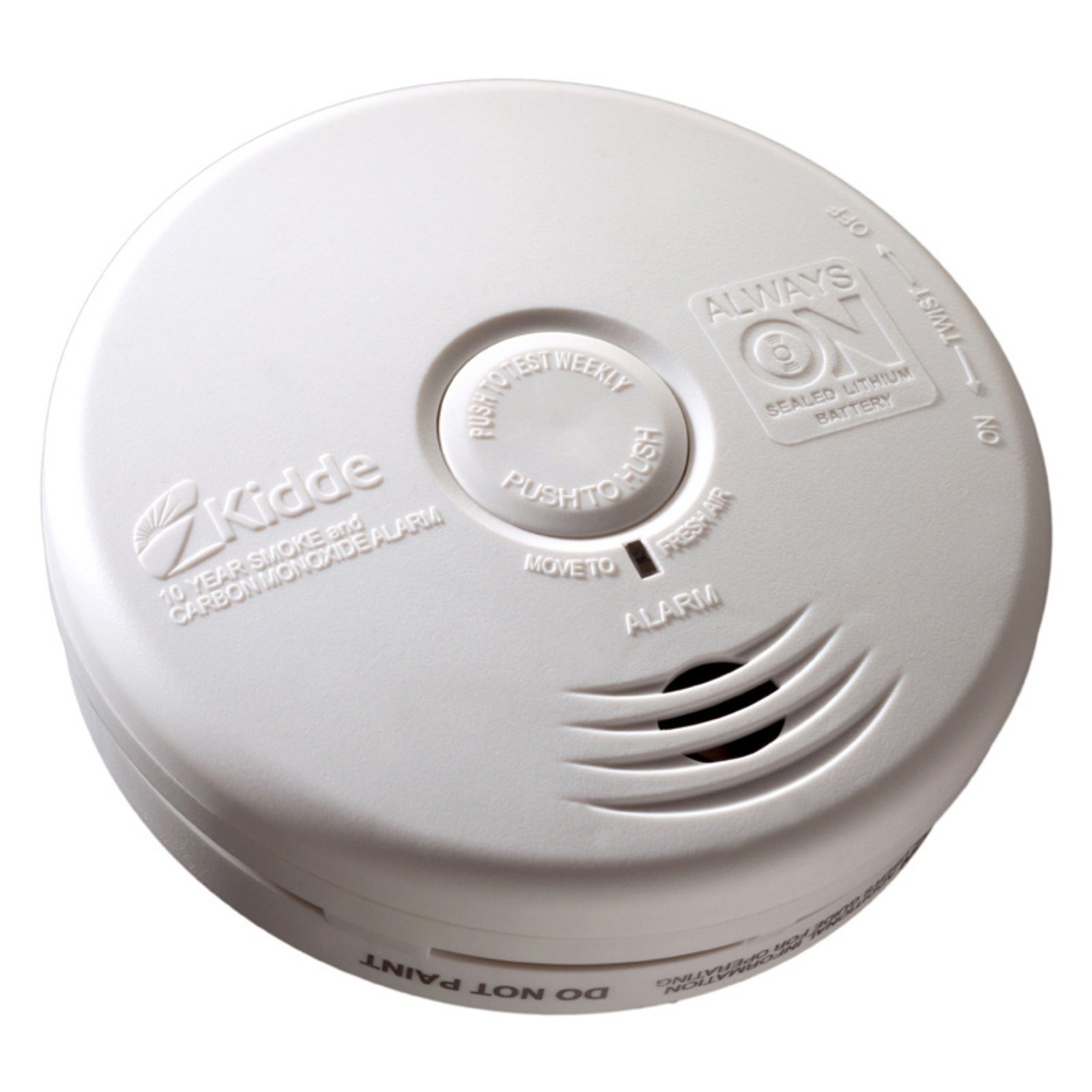 Kidde 21010170 10 Year Kitchen Smoke & Carbon Monoxide Detector