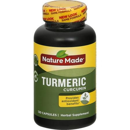 Nature Made Turmeric 500 mg Capsules - 120ct