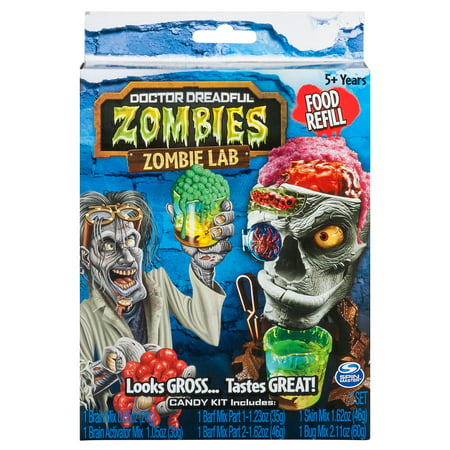 Doctor Dreadful Zombies – Food Refill Candy and Drink Mix for Candy Maker - Zombie Docter