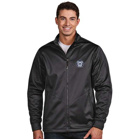 Bustier Jacket (Butler Bulldogs Antigua Golf Full-Zip Jacket - Charcoal)