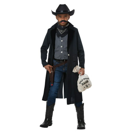 Boys Wild West Sheriff/Outlaw Costume - Western Outlaw Costume