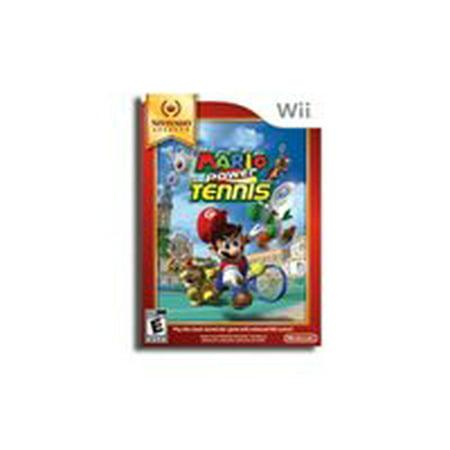 Mario Power Tennis - Nintendo Selects (Wii) (Power Rangers Wii Game)
