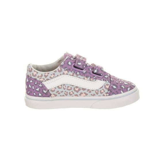 286a5ce0c0be Vans - Vans Toddlers Old Skool (2-Tone Leopard) Skate Shoe - Walmart.com