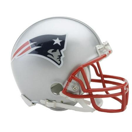 Riddell New England Patriots VSR4 Mini Football - New England Patriots Helmet