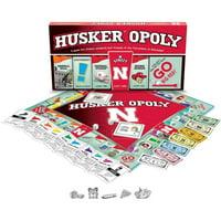 University of Nebraska - Huskeropoly Board Game