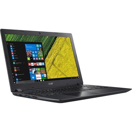 "Acer Aspire 3 A315 15.6"" HD Notebook, Intel Dual-Core i3-7100U 2.4GHz, 4GB DDR4, 128GB SSD, Card Reader, HDMI, Wifi, Bluetooth, USB, Windows 10 Pro 64Bit"