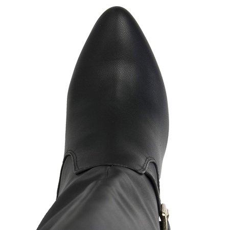 Rialto Womens Cahoon Fabric Closed Toe Mid-Calf Fashion - image 1 of 2