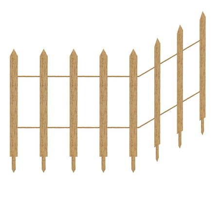 Picket Fence Halloween Yard Decoration and Prop, 84