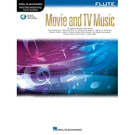 Movie and TV Music for Flute: Instrumental Play-Along Series (Star Wars Imperial March Flute Sheet Music)