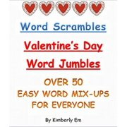 Word Scrambles: Over 50 Valentine's Day Word Jumbles - eBook