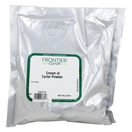 Frontier Natural Products - Cream of Tartar Powder - 1 lb(pack of 1)