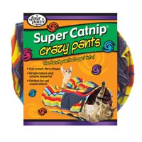 Four Paws Super Catnip Crazy Cat Tunnel Pants Toy
