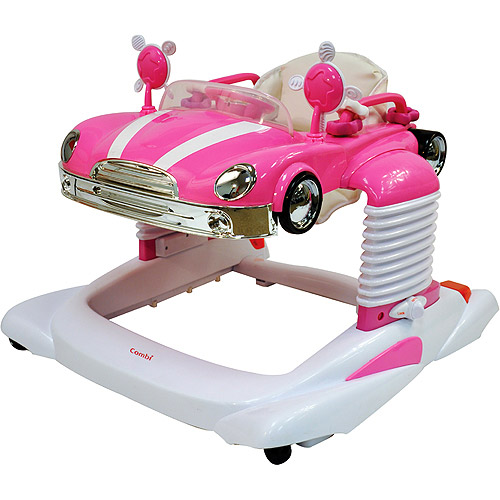 Combi  All-in-One Activity Walker, Pink