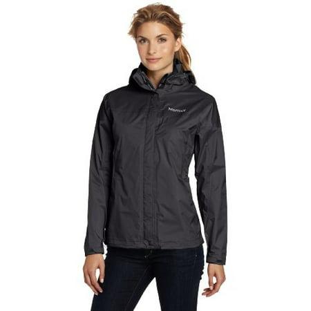 Marmot Women's Precip Jacket, Black, Large