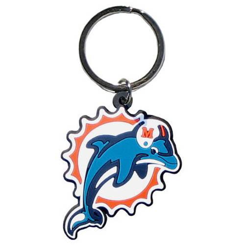 Miami Dolphins NFL Impact Keychain
