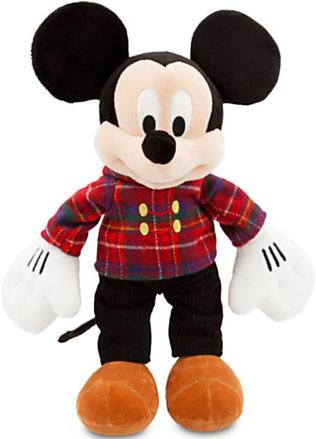 Disney Holiday Mickey Mouse Plush [Plaid Jacket] by