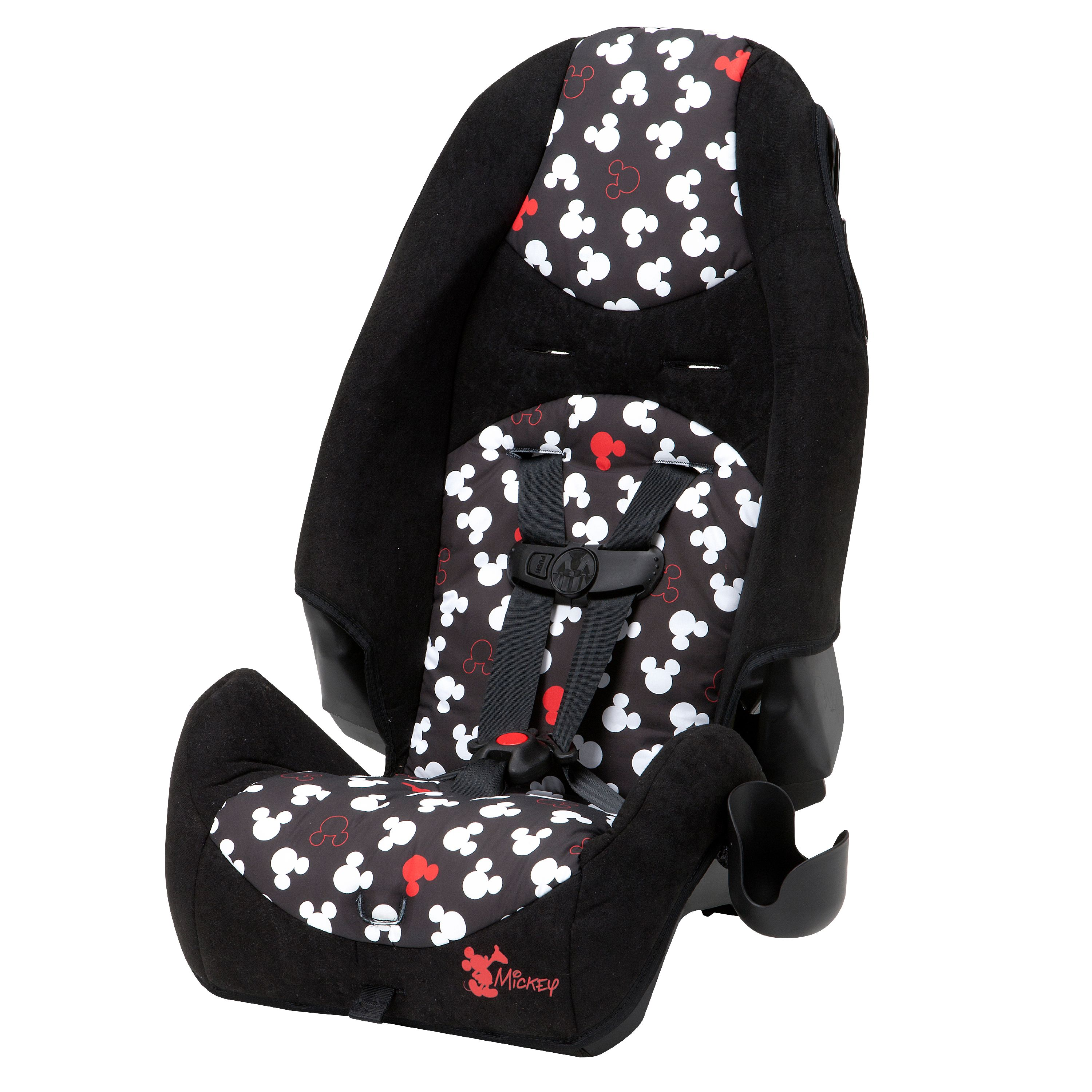 Disney Baby Highback 2 In 1 Booster Car Seat, Pop Up Mickey 2