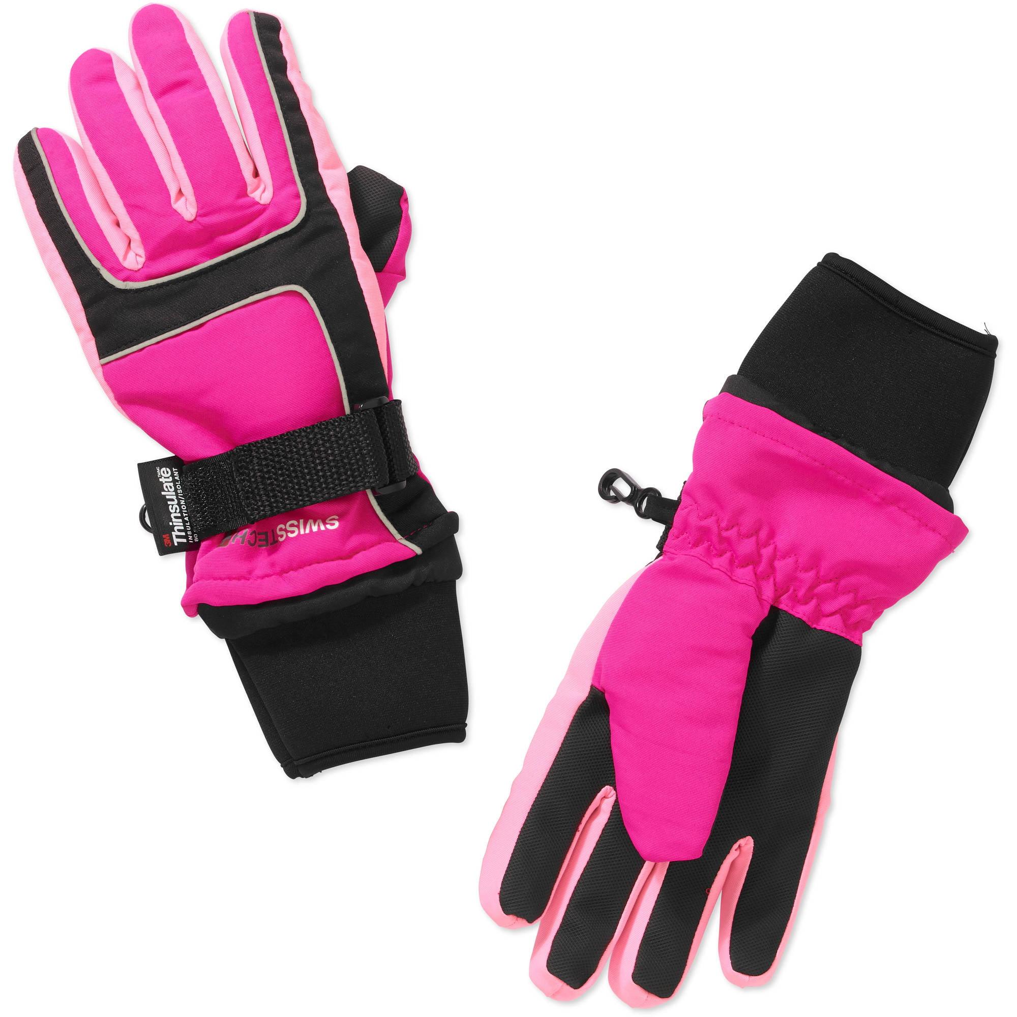 Swiss Tech Girls Ski Glove