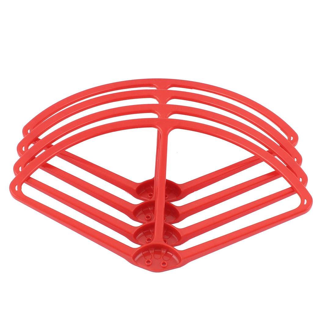 "9"" Propeller Blade Protective Guard Bumpers Set Red for DJI Phantom 2 Vision"