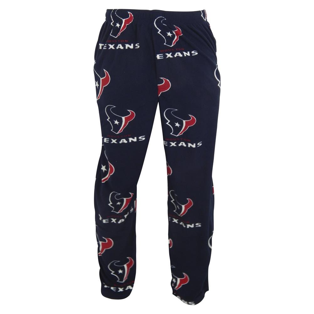 Men's Houston Texans Fleece Pajama Pants