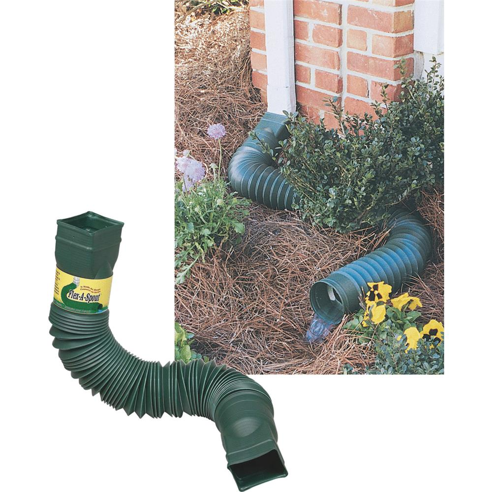 Amerimax Home Products Green Flex-A-Spout 85011