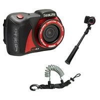 SeaLife Micro 2.0 16mp WiFi Underwater Camera 32GB w/ AquaPod Mini UW Camera ...