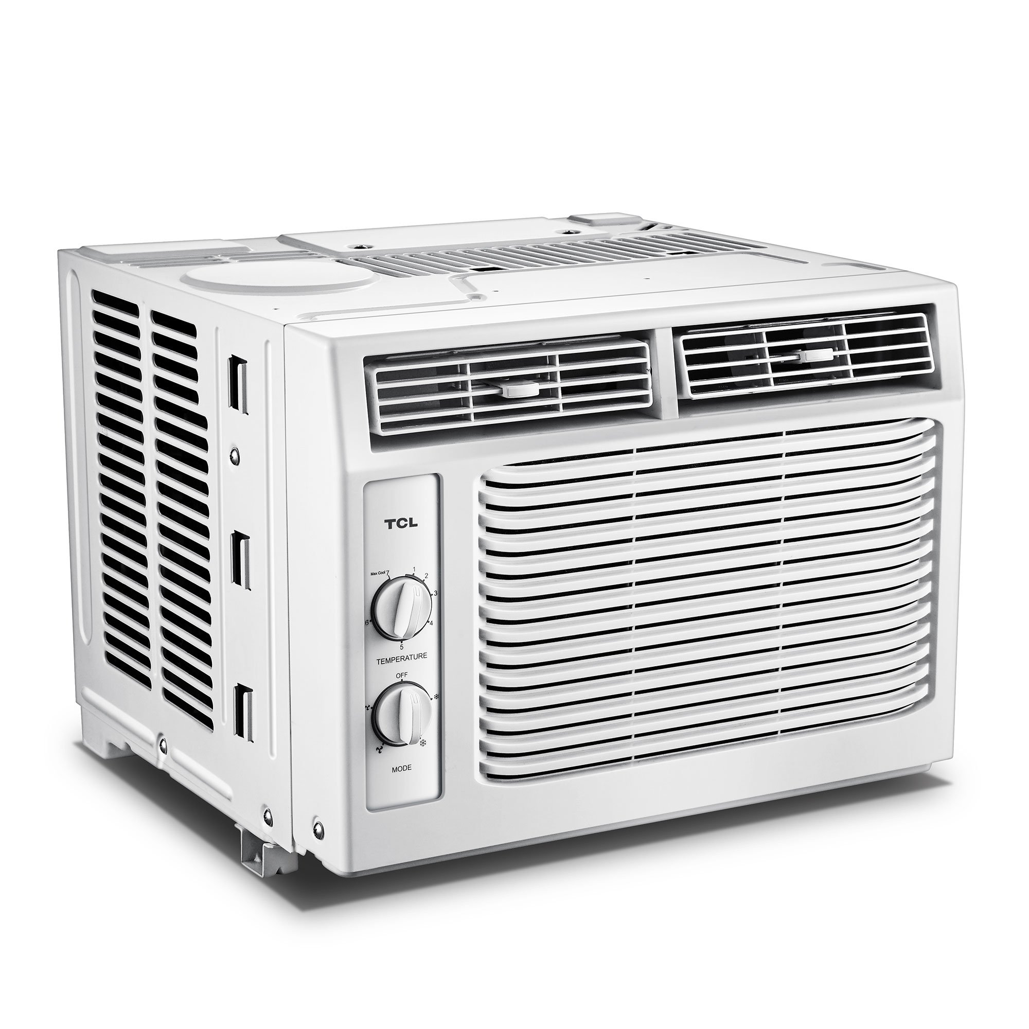 TCL Home Appliances 5,000 BTU 2 Speed Window Air Conditioner AC Unit (2 Pack)