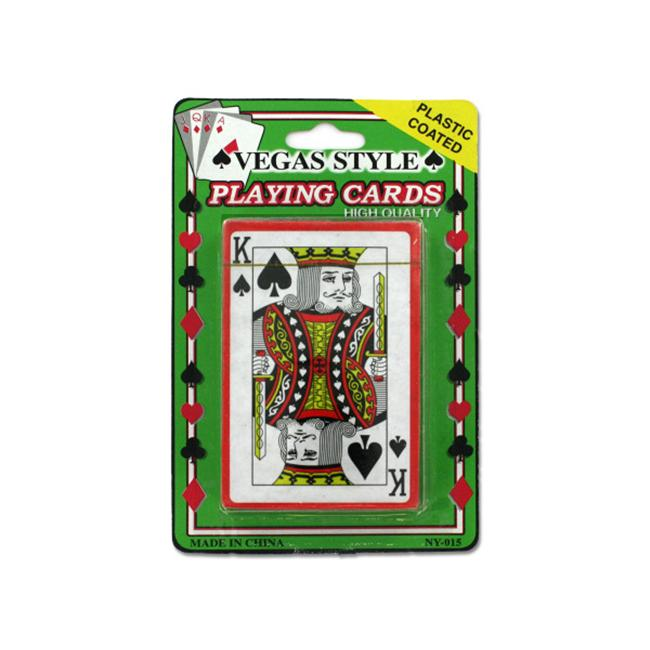 Plastic coated playing cards - Pack of 24 - image 1 of 1