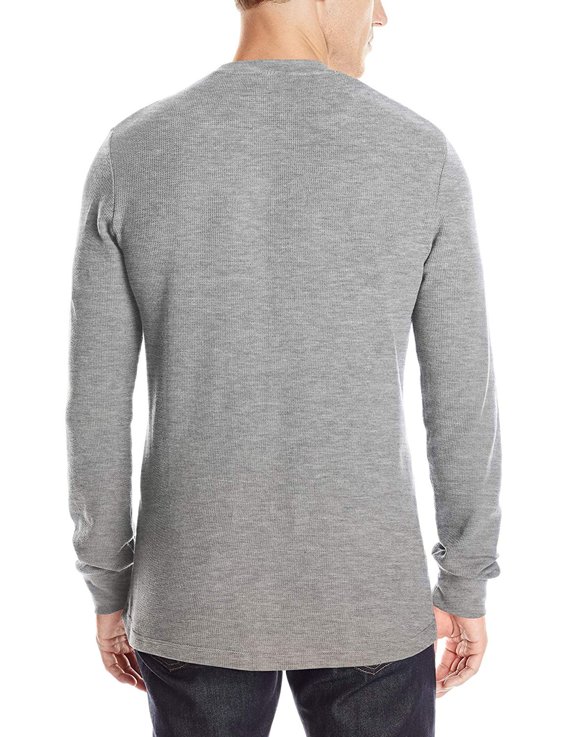 U.S POLO ASSN Long Sleeve Crew Neck Solid Thermal Shirt