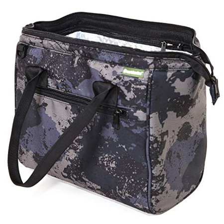 Insulated Lunch Bag Box for Men and Women with Removable LEAK PROOF Lining, Camo Print converts to a Tote Handbag - Easy to Clean